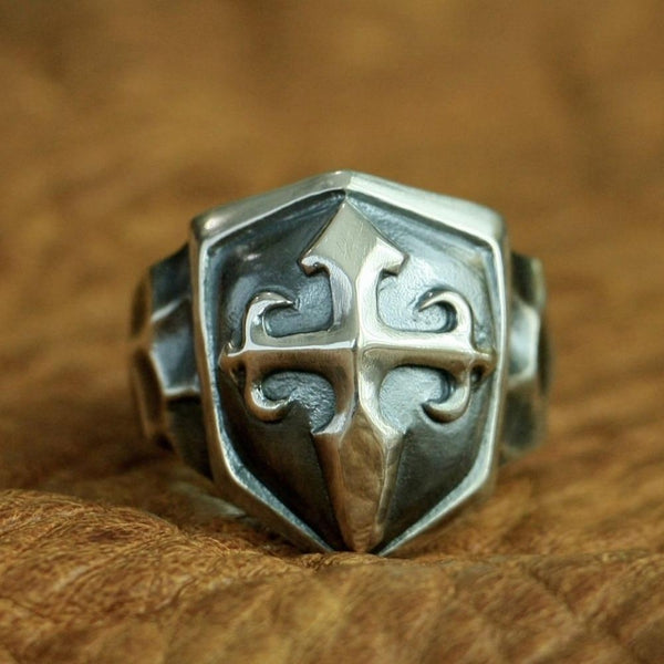 Shield Cross Ring - Empire of the Gods