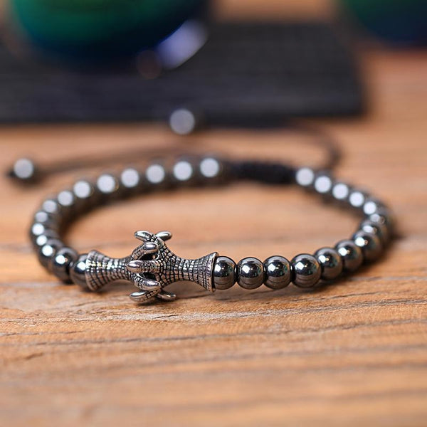 Hematite Eagle Claws Bracelet - Empire of the Gods