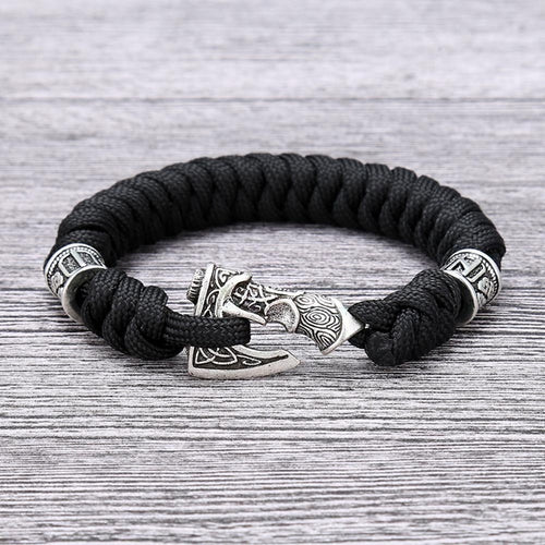 Viking Axe Paracord Bracelet - Empire of the Gods