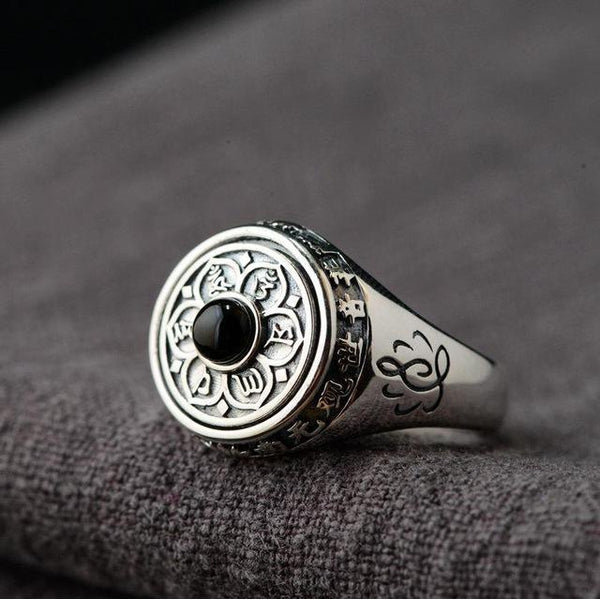 Silver Lotus Ring - Empire of the Gods