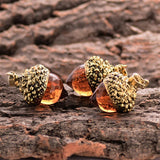 Vintage Acorn Pendant Necklace - Empire of the Gods