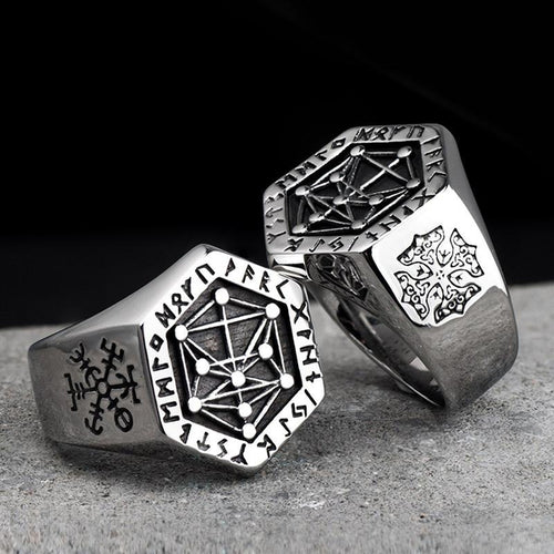 Nordic Rune Ring - Empire of the Gods