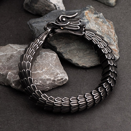 Ouroboros Dragon Bracelet - Empire of the Gods