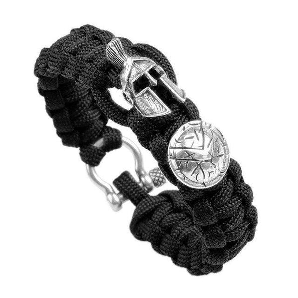 Spartan Paracord Bracelet - Empire of the Gods