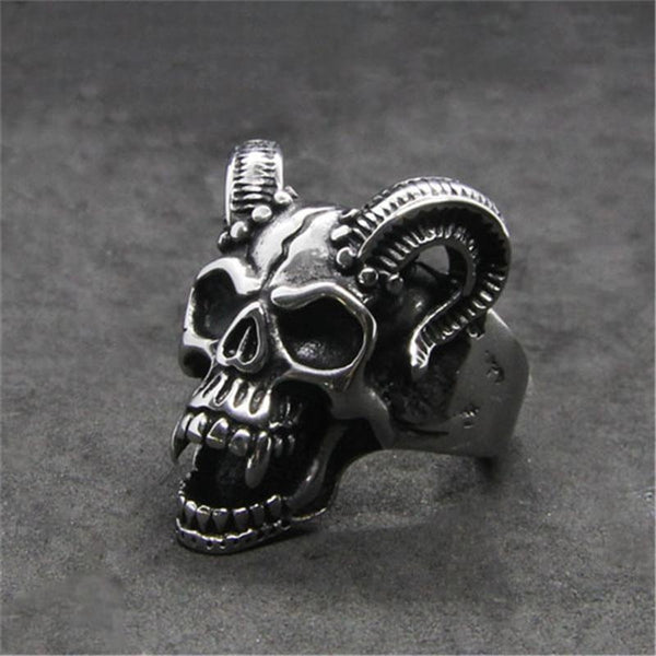 Evil Damn Skull Ring - Empire of the Gods
