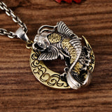 Crescent Moon Koi Pendant - Empire of the Gods