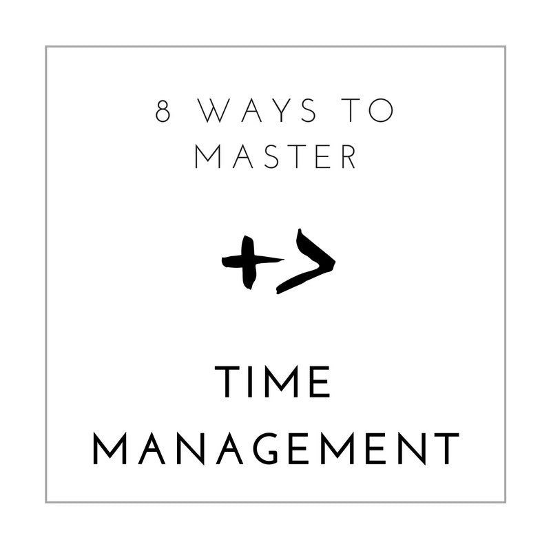 Master Time Management