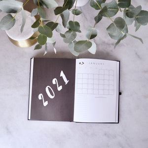 PLANNER 2020/1 - half year - a day a page