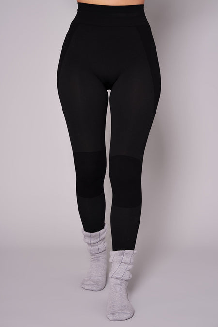 Thermal Seamless Base Layer Tights - Black