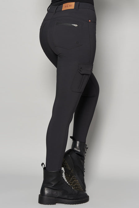 Cargo MAX Stretch Outdoor Trousers - Black - ACAI Activewear