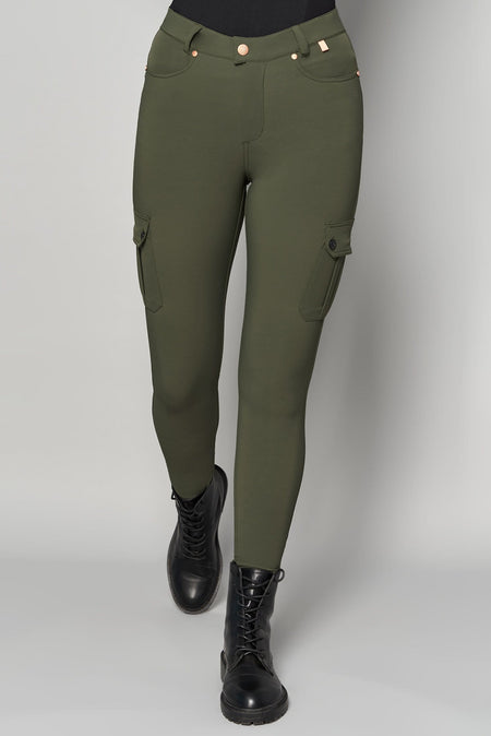 Cargo MAX Stretch Outdoor Trousers - Khaki - ACAI Activewear