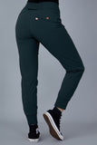 Casual Stroll Pants - Forest Green
