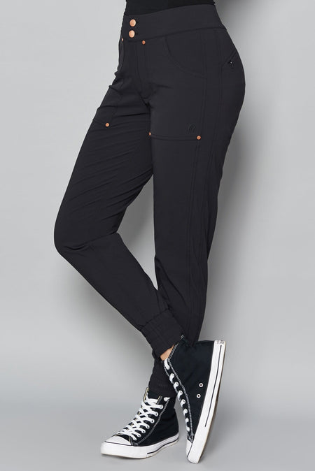 Casual Stroll Pants - Black - ACAI Activewear