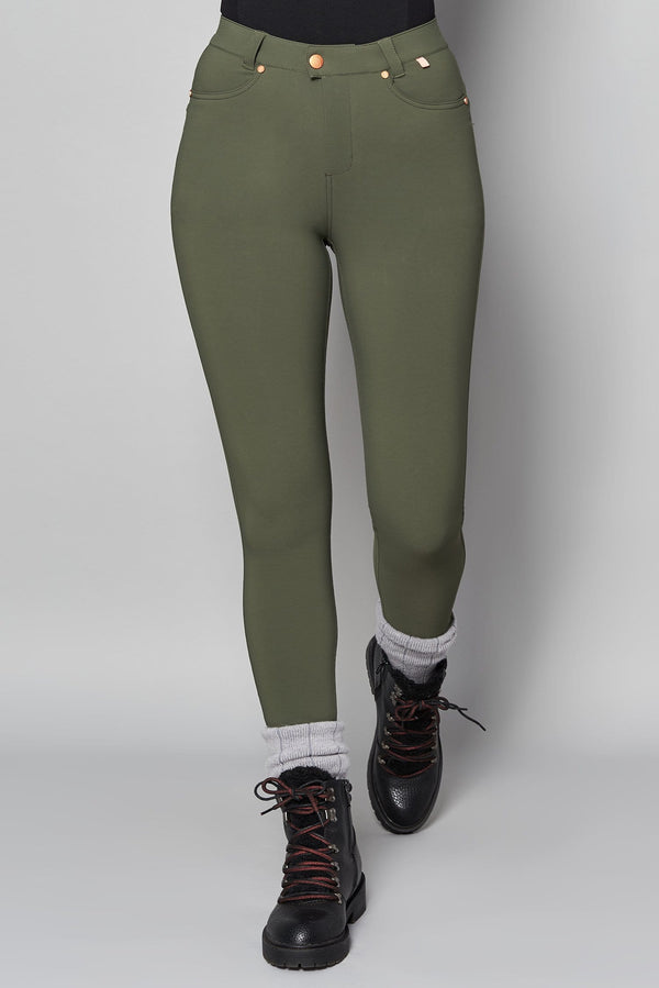 MAX Stretch Skinny Outdoor Trousers - Khaki - ACAI Activewear