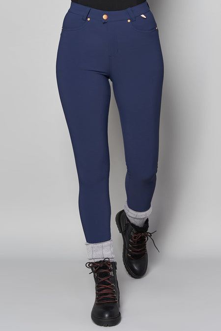 MAX Stretch Skinny Outdoor Trousers - Navy