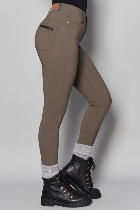 MAX Stretch Skinny Outdoor Trousers - Sand - ACAI Activewear