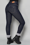 The Skinny Outdoor Jeans - Dark Blue Denim - ACAI Activewear