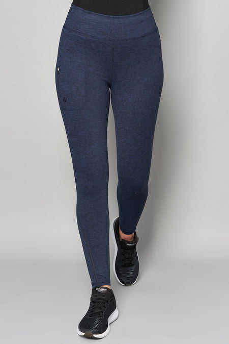 Thermal Outdoor Leggings - Blueberry - ACAI Activewear