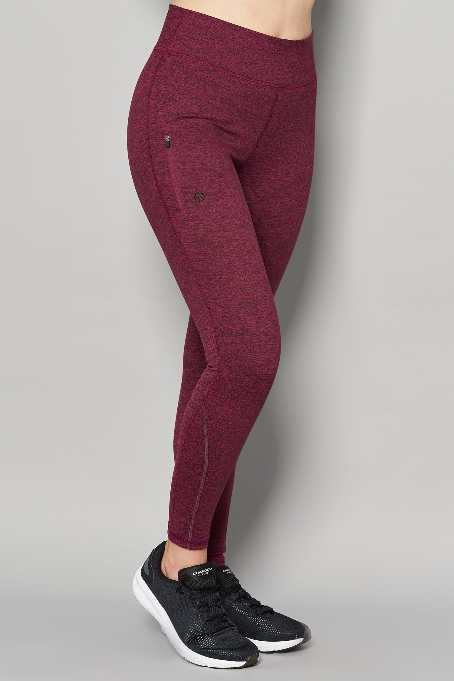 Thermal Outdoor Leggings - Raspberry - ACAI Activewear
