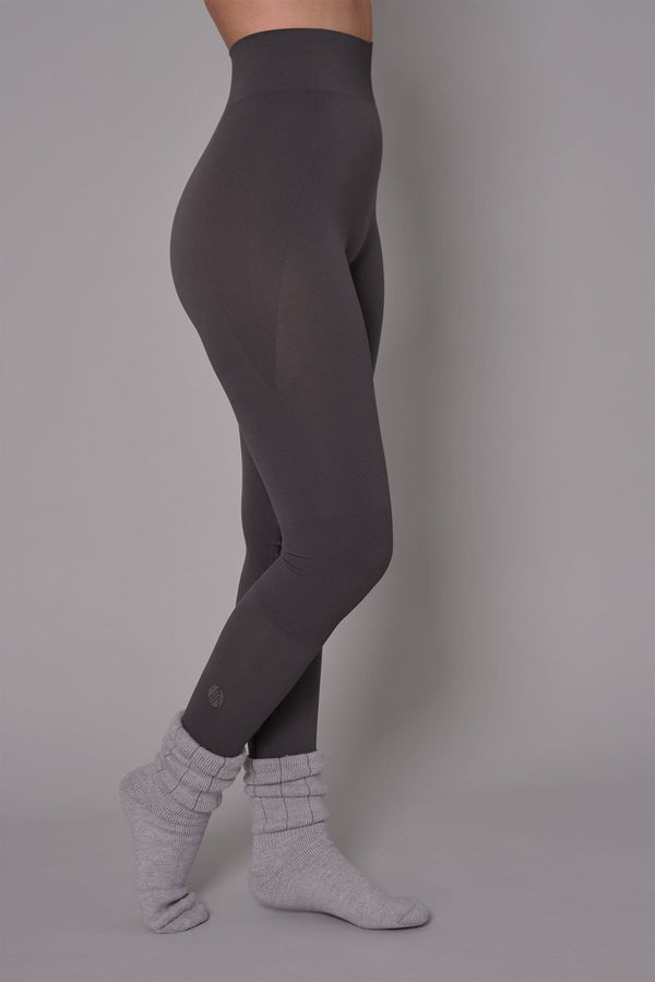 Thermal Seamless Base Layer Tights - Storm Grey