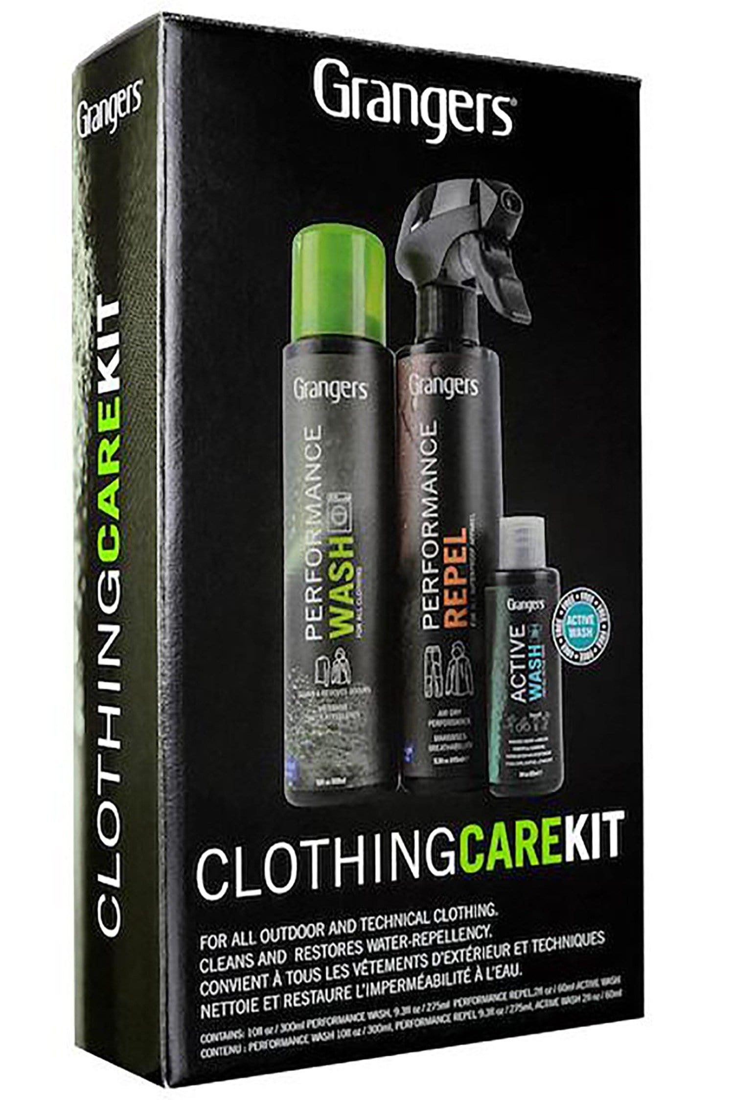 Grangers Clothing Care Kit - ACAI Activewear