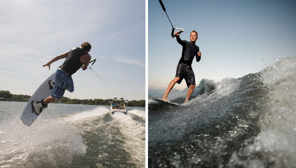 Is there a difference between Wakeboarding and Wakesurfing?