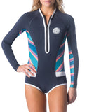 Rip Curl - Women's G Bomb Long Sleeve Sublimated Bikini Cut Springsuit