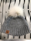 CSURF Handmade Light Grey Hats / Tuques