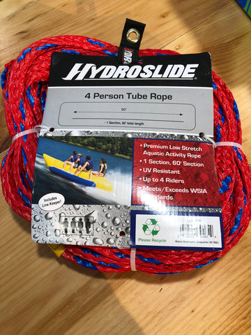 Hydroslide 4 persons tube rope