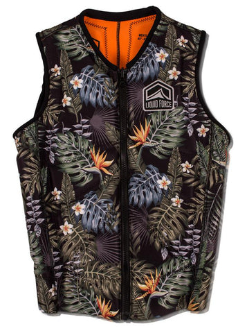 Liquid Force Z-Cardigan Comp Tropical Vest mens