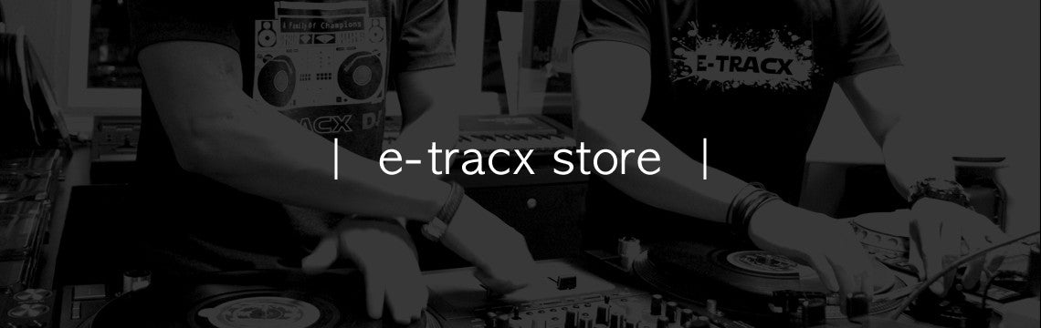 -TracX DJ School Store Website Banner
