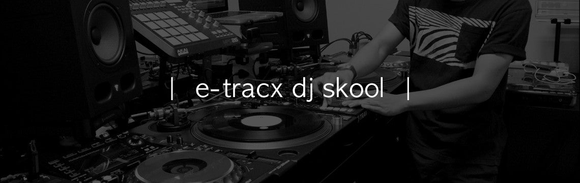 E-TracX DJ School Website Banner