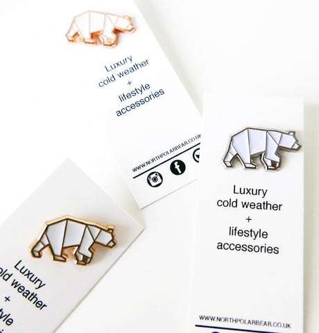 Mixed Metals Mini-bear Pin