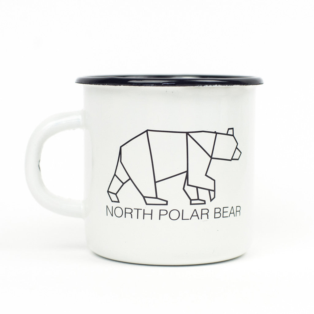Sample sale enamel mug