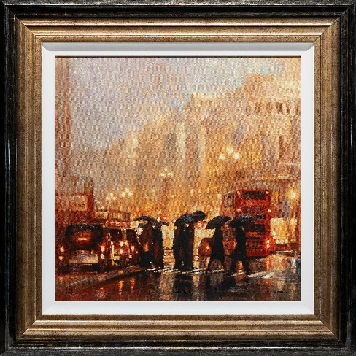West End limited edition print by Mark Spain