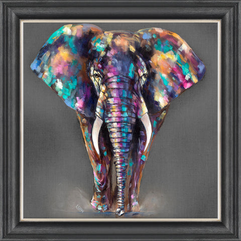 Hugo framed print by Louise Luton from Artworx Gallery