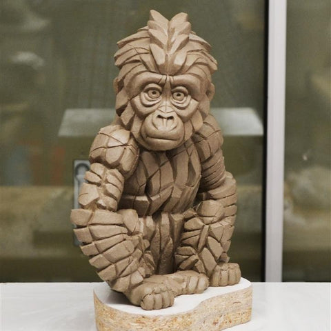 NEW Baby Gorilla by Matt Buckley from Edge Sculpture