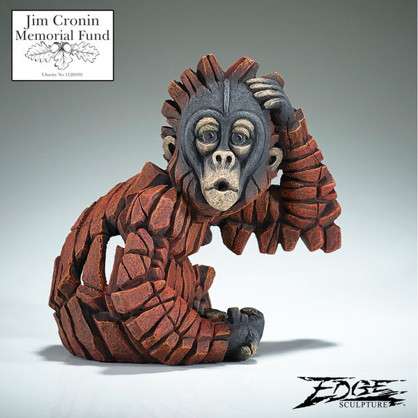 Baby Oh Orangutan by Edge Sculpture
