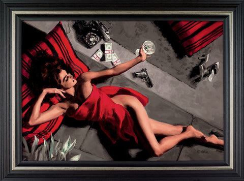 Blackmailer limited edition framed print by Glen Orbik