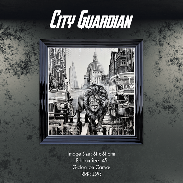 City Guardian limited edition print by Ben Jeffrey