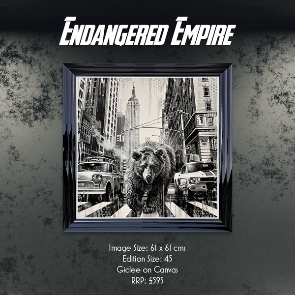 Endangered Empire limited edition print by Ben Jeffrey