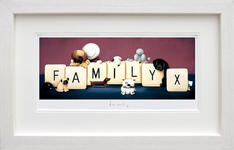 Family limited edition print by Doug Hyde