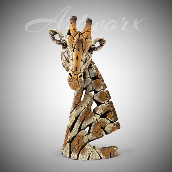 Giraffe Bust from Edge Sculpture by Matt Buckley