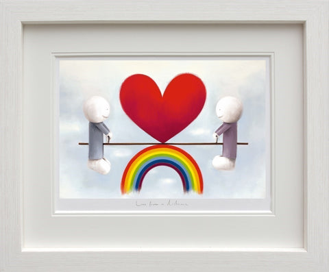 Love From a Distance limited edition print by Doug Hyde from Artworx Gallery