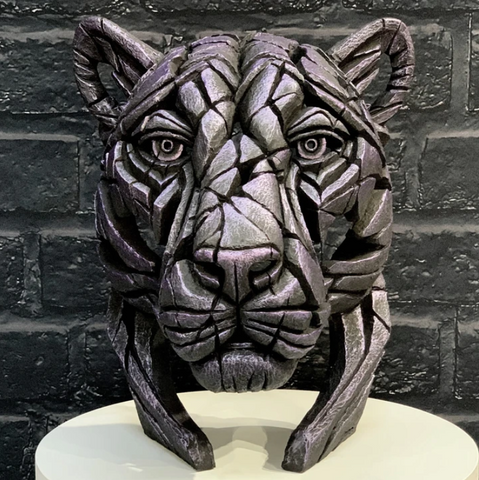 Panther Bust (limited edition) Moon Hunter by Matt Buckley at Edge Sculpture