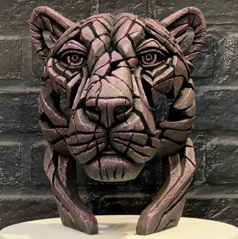 Panther Bust (limited edition) Rinky Dink by Matt Buckley at Edge Sculpture