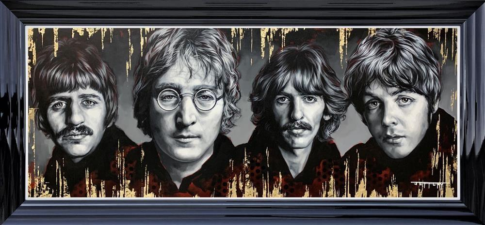 The Fab Four limited edition print by Ben Jeffery