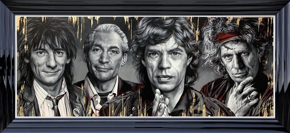 The Stones limited edition print by Ben Jeffrey