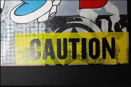 Caution collection from Artworx Gallery