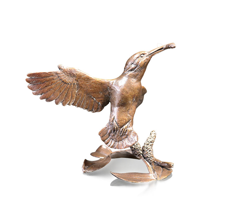 The Catch Solid Bronze Sculpture by Michael Simpson